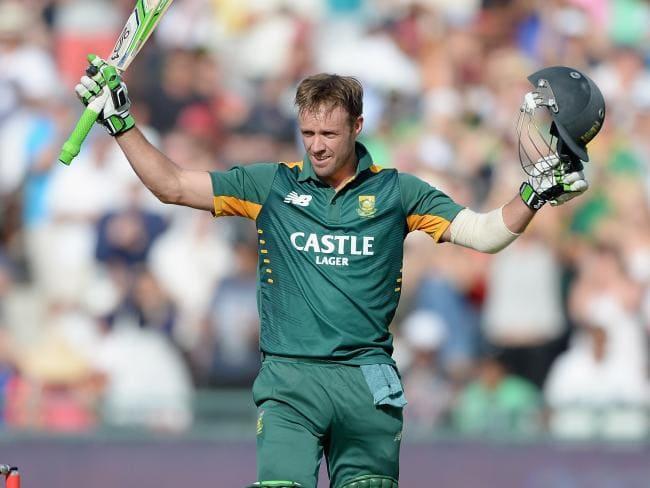 South Africa superstar AB de Villiers.